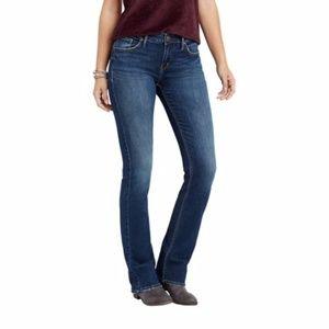 Silver Jeans 31  Avery Slim Boot Cut Medium Wash
